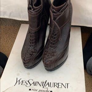Yves Saint Laurent Tribtoo Bootie